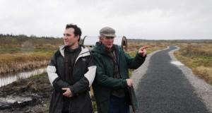 Artists Julian Wild (UK) and Alan Counihan (Ireland)